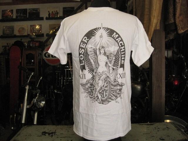 LOSER MACHINE Tee  HOLY GRAIL / WHITE
