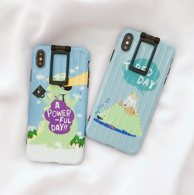 【オーダー商品】 Animal stand iphone case