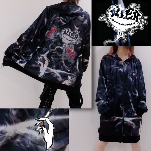 LONG LENGTH ZIP OUTER【NieR SMOKE】