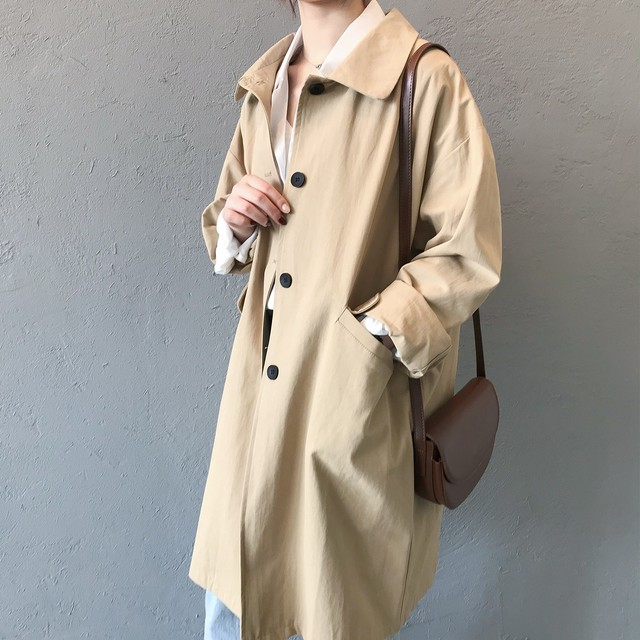 Middle Length Trench Coat T586