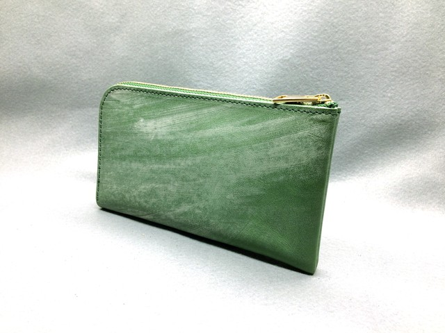 SHOZO wallet (bridle leather): Green
