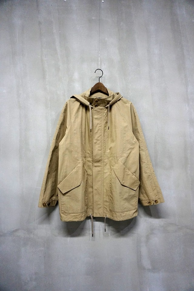 Cotton Nylon Ripstop Parka