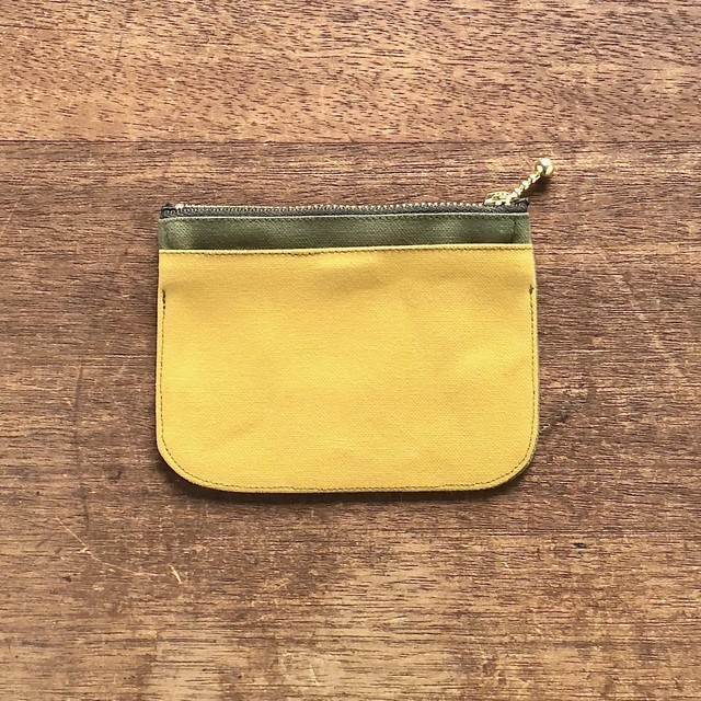 mini財布《 帆布×イロアソビ 》