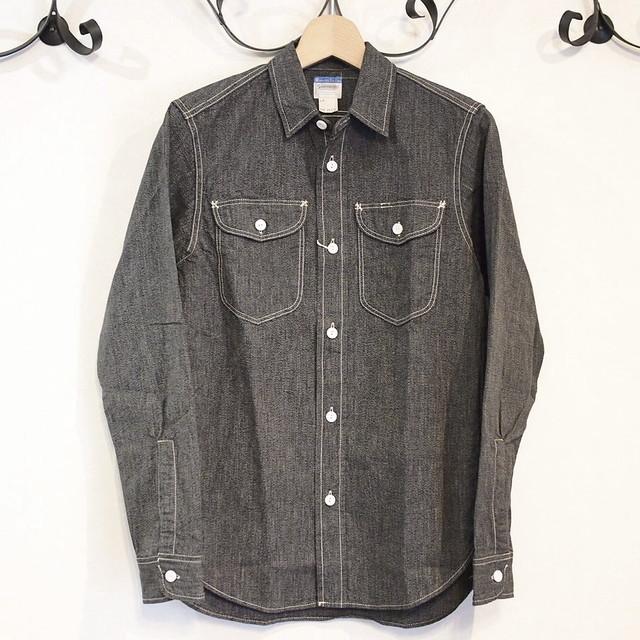 Workers(ワーカーズ) ブラックコバート・ワークシャツ