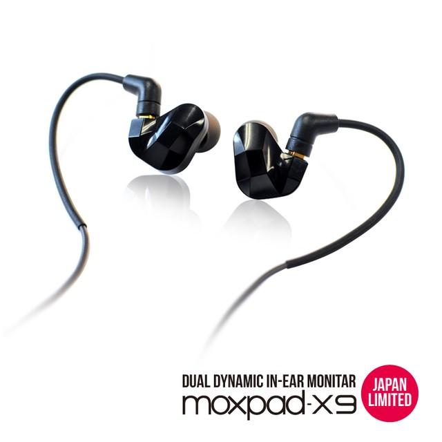 MMCX リケーブル対応イヤホン :: X9 BK JL  ::  moxpad