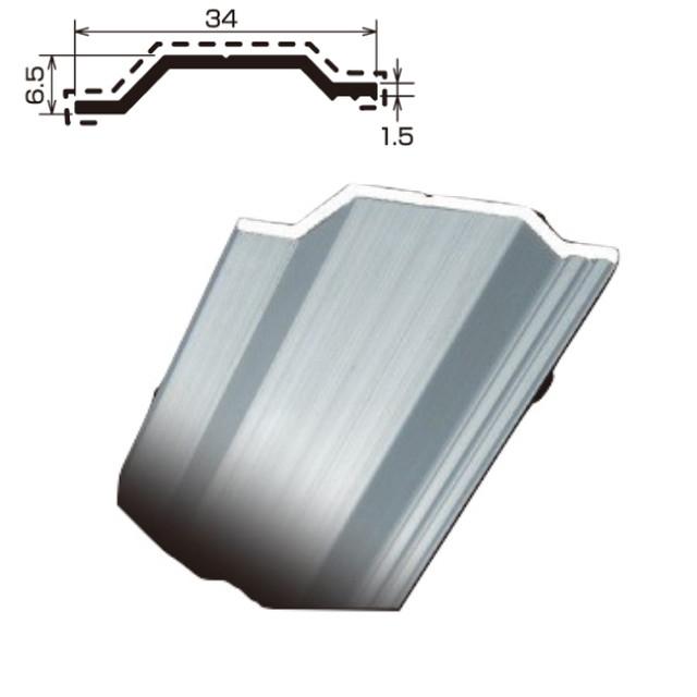 アルミフラット TF-4 厚さ 1.5 規格 6.5×34×2,000 1本 タイセイ