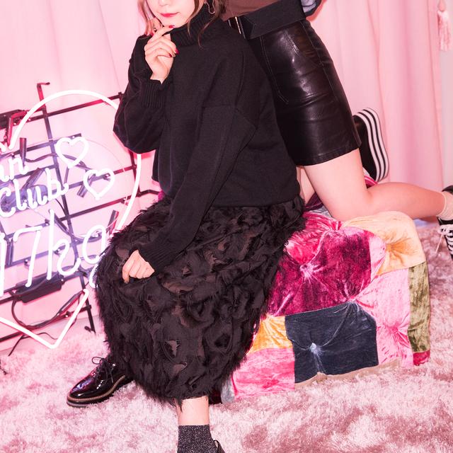 【即納♡】レザースカート 8091