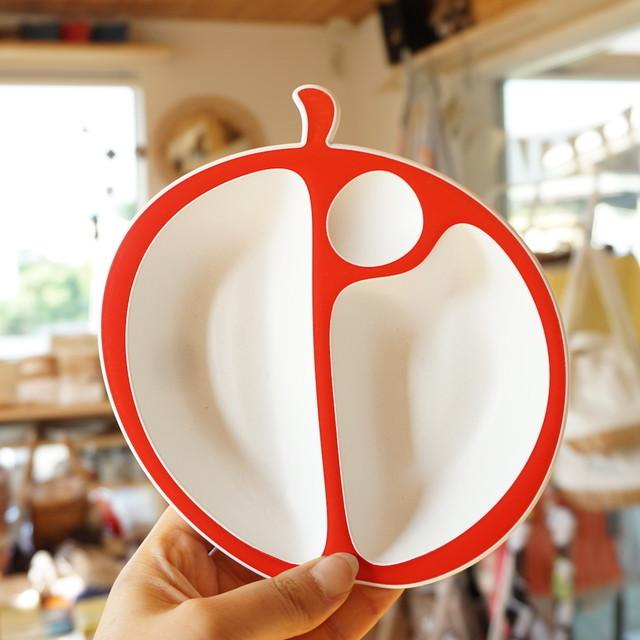 はじめてのごはんは、りんごで。MELA単品 りんごのお皿