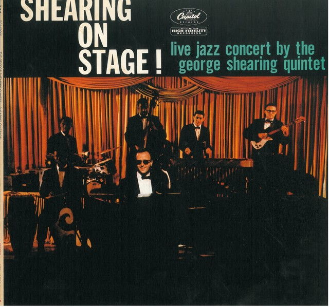 THE GEORGE SHEARING QUINTET SHEARING ON STAGE ! (LP) 日本盤