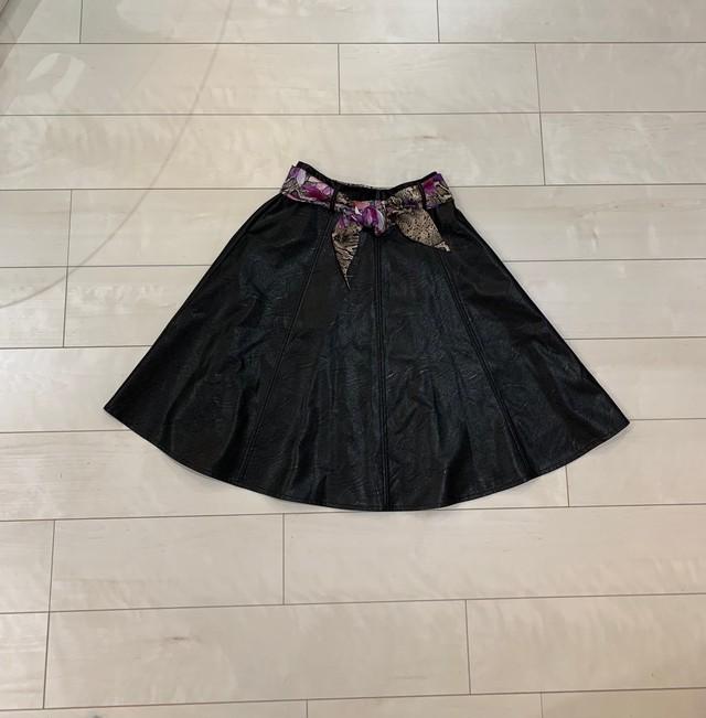 リナシメント/Rinascimento合皮スカート
