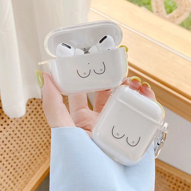 Sexy nude airpods case