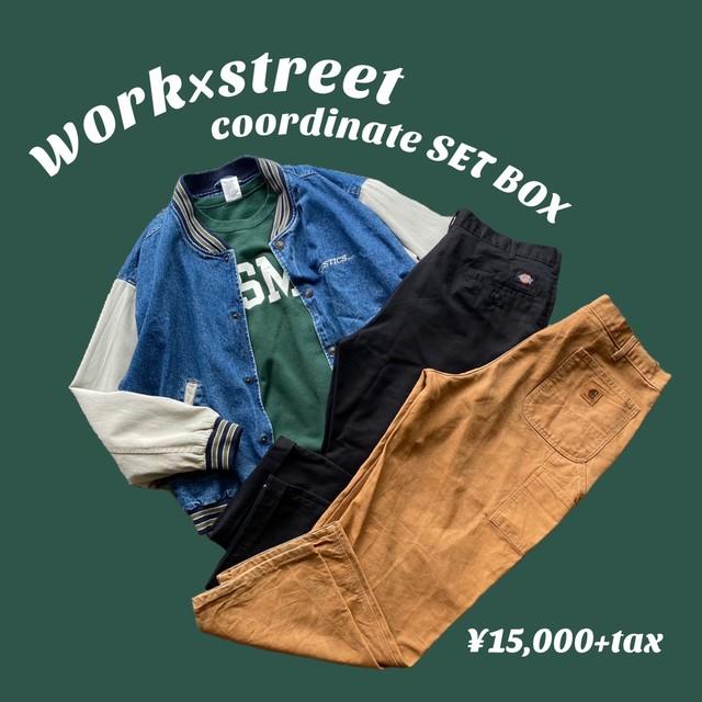 work × street coordinate SET BOX