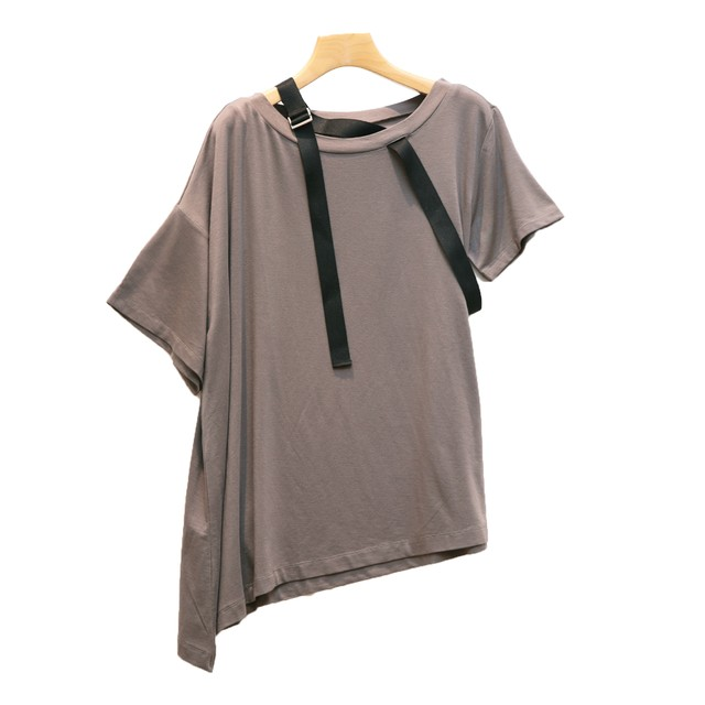 AULA AILA/アウラアイラ/ ASYMMETRY LOOSE/T-SHIRT 【1201-08052 】