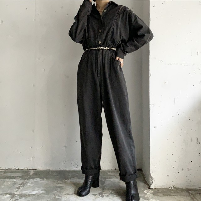 vintage cotton jumpsuit.