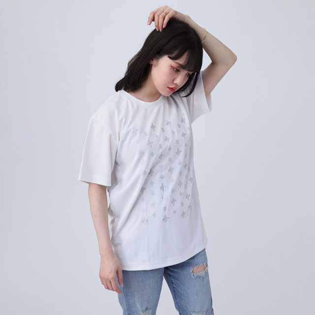 【FLOWER by RADIO EVA 018】EVA Monogram T-Shirt  WHITE / EVANGELION エヴァンゲリオン