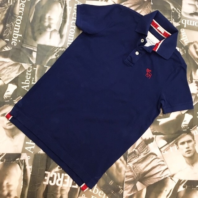 Abercrombie&Fitch MENS ポロシャツ Sサイズ