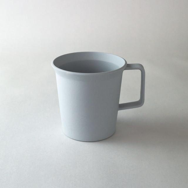 """1616/arita japan TY """"Standard"""" Mug handle(Plain Gray)φ8.6×H8.5cm プレーングレー 有田焼 陶磁器 シンプル スタイリッシュ マグカップ 食器"""