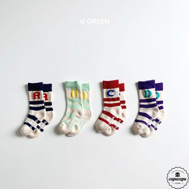 «即納» ABC Socks 4set  ABC ソックス 靴下
