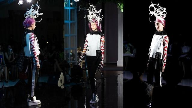 Avantgarde Legwear 09 アートタイツ / M&K Design