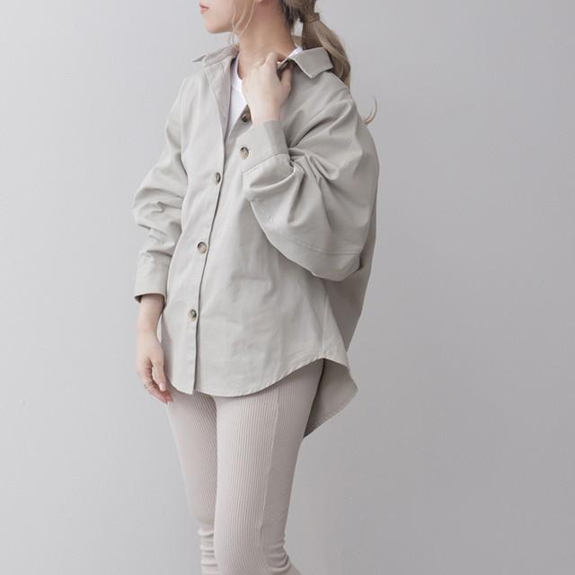 綿ツイルドルマンシャツJK FLL21020