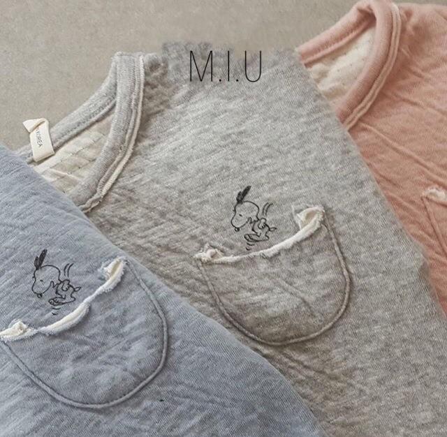 ジャンプ in the ポケットTシャツ #MIU713