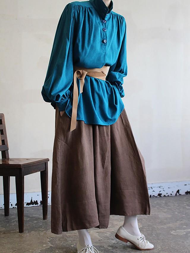 70's silk blouse