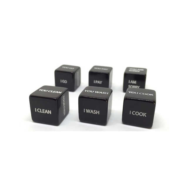 Couple DICE set of 6