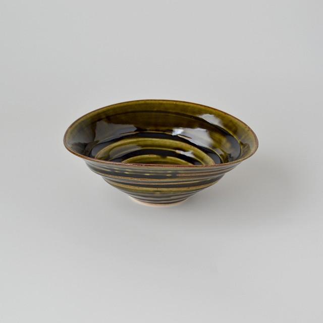 濃オリベ五寸六兵衛鉢