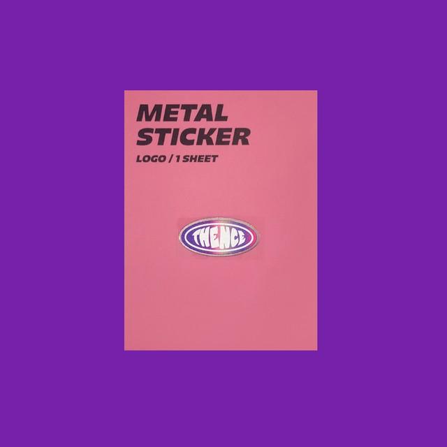 [S-45] 「LOGO」 メタル ステッカー