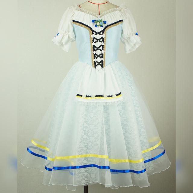【リユース】バレエ衣装 ペザント・ジゼル RU002_B