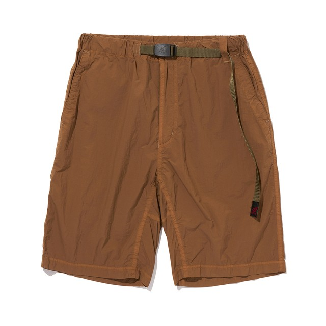 WM× Gramicci GARMENT DYED EASY SHORT PANTS - BROWN