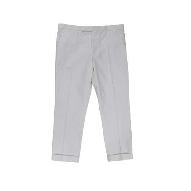 Haider Ackermann Trousers White