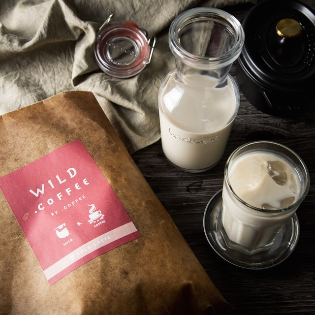 【Wild.Coffee】COLD LATTE 500ml(推奨)×4個