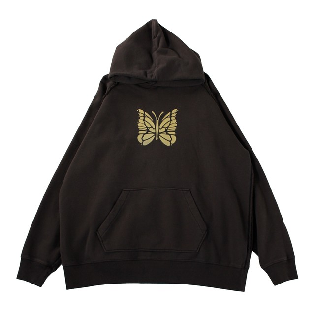 NEEDLES Butterfly Hoodie Charcoal