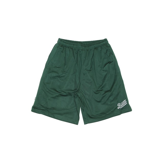 LOGO PRO CLUB MESH SHORTS [GREEN]