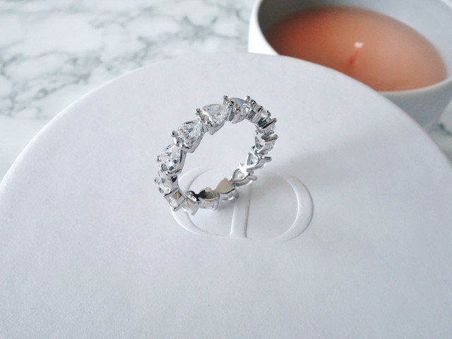 round cut eternity ring