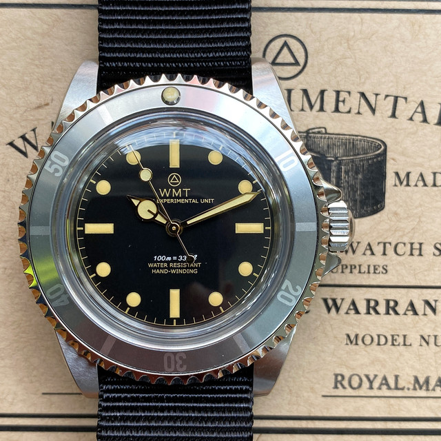 W.MT WATCH NEW CASE ROYAL MARINE GHOST GILT (NH35) WMT1313-06