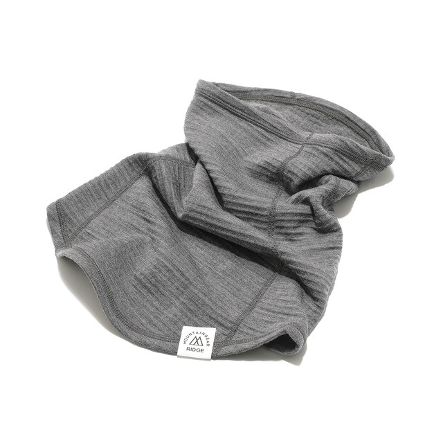 RIDGE MOUNTAIN GEAR Grid Merino Long Neck Gaiter ネックゲイター