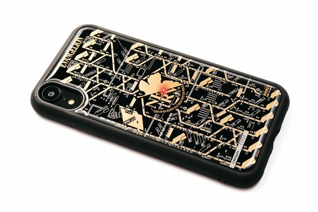 FLASH NERV iPhone XRケース 黒【東京回路線図A5クリアファイルをプレゼント】