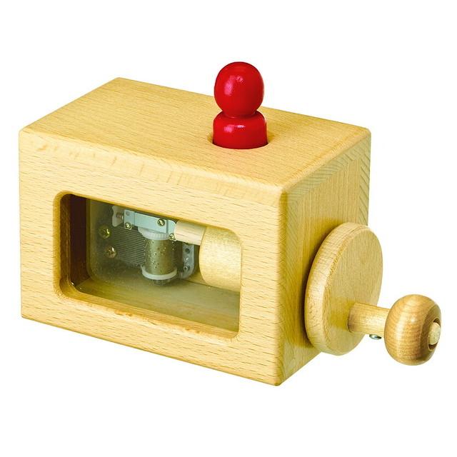 動きが見えるミュージックボックス【視覚聴覚触覚に働きかけます】