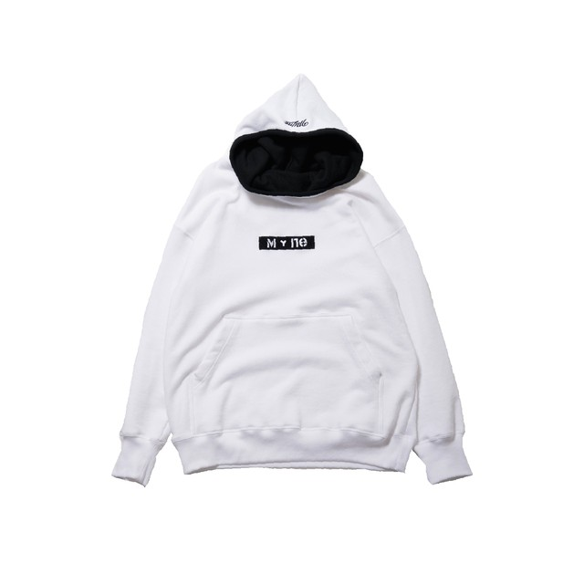 M+ne MAGIC TAPE HOODIE / WHITE - メイン画像