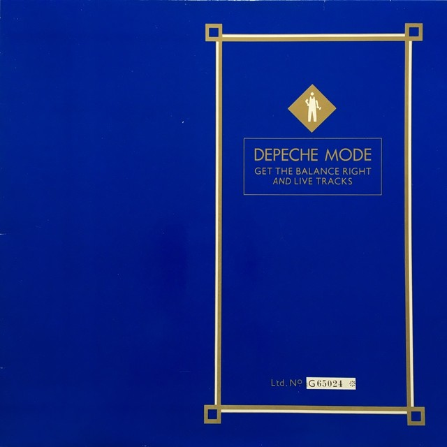 【12inch・独盤】Depeche Mode /  Get The Balance Right And Live Tracks
