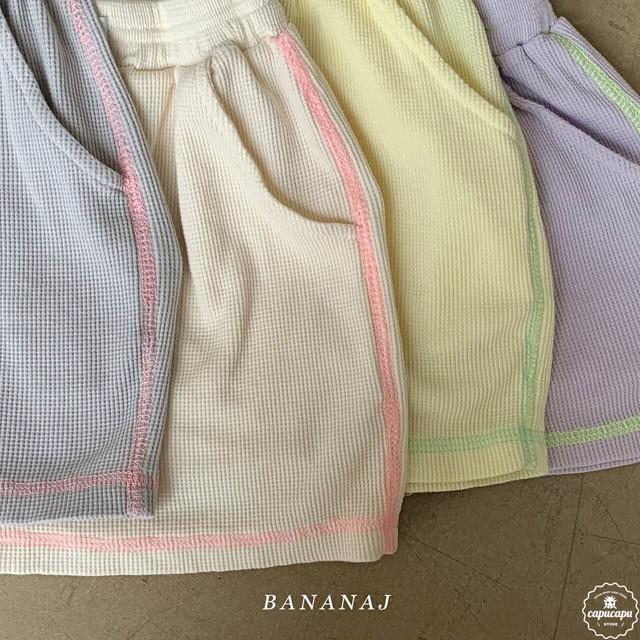 «sold out» banana j  neon waffle shorts ネオンワッフルショートパンツ