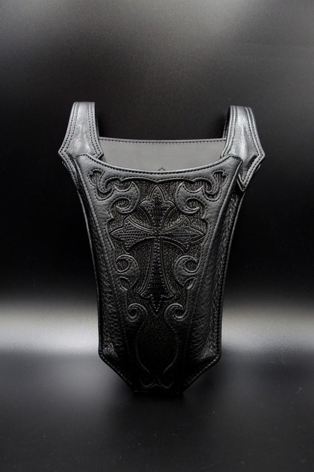 Item No.0316:Peace maker Symmetry Hip bag/Diamond Python