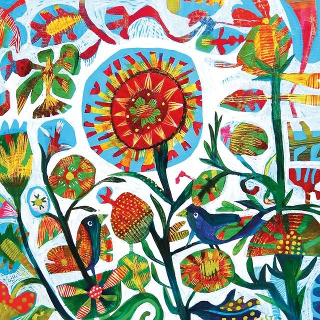 【Paperproducts Design】バラ売り2枚 ランチサイズ ペーパーナプキン Quito ブルー