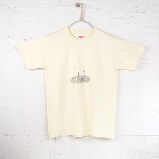 TshirtsComplex|薺藤詩織「しりぐまTシャツ」(モノクロS)