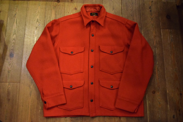USED 50s L.L.Bean Mackinaw Jacket -M-L J0