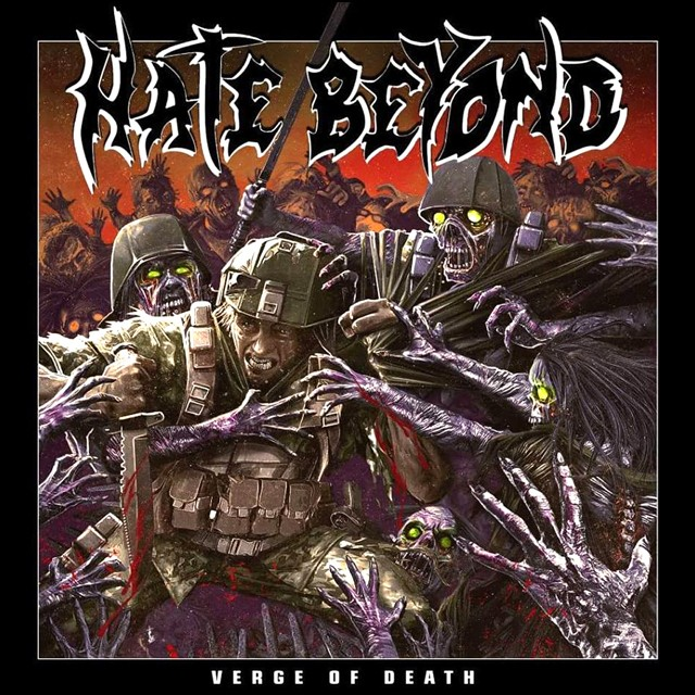 HATE BEYOND『VERGE OF DEATH』European Edition Digipack CD