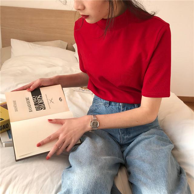 2020SS シックなシンプルTシャツ