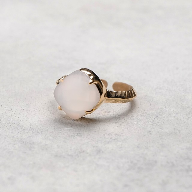 SINGLE STONE ADJUSTABLE RING 016